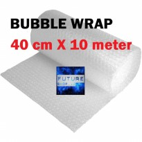 Plastik Bubble Wrap ukuran 40 cm x 10 meter KUALITAS PACKING BIRU