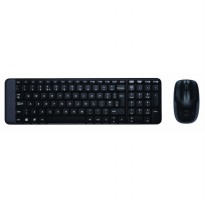 Logitech Mouse and Keyboard Combo Wireless MK220 - Black