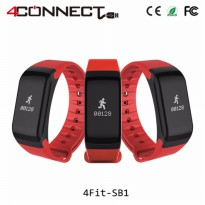 4Fit Blood Pressure and Oxigen Monitor Waterproof Activity Tracker