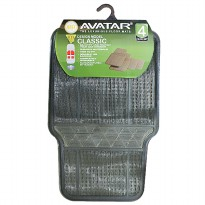 Avatar Karpet 6003 4 Pcs Smoke