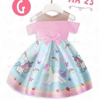 Dress Anak Sabrina Unicorn