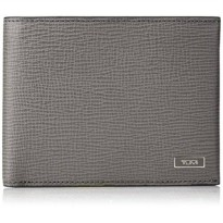 [macyskorea] Tumi Mens Monaco Global Double Billfold, Grey, One Size/18420442