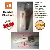 Headset Bluetooth Xiaomi | Handsfree Bluetooth XiaoMi | Earphone Bluetooth XiaoMi