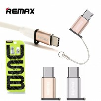Remax Konektor Micro USB to Type C Adapter Converter RA-USB1 ORIGINAL