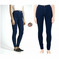 highwaist navy | celana high waist | celana hw