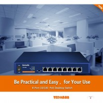 Tenda TEF1108P 8 port Fast Desktop PoE Switch