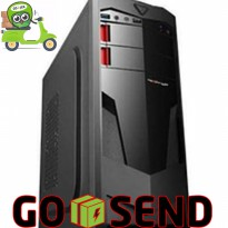 (KHUSUS GOJEK) Power Up Element Series 901 + PSU 500w - Casing PC