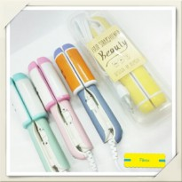 Kemier Emotion WARNA Japan Beauty 2in1 catok mini travel mirip haidy