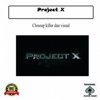 DVD Sulap Project X by Kareem Ahmed