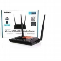 D-Link DSL-2750E N300 Wireless ADSL2+ 4-Port Wi-Fi Router 300Mbps