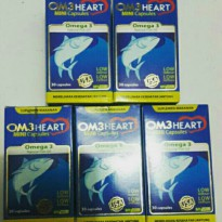 Om3heart - Omega 3 Fish Oil