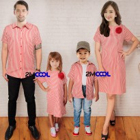 Hem/Kemeja Gaun/Dress Couple Mr. Smith Family Set / Baju Family terbaru / Couple Family 2 anak / Baju Sarimbit / Baju keluarga / Baju ayah ibu anak / Baju seragam keluarga / Baju kembaran keluarga
