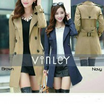 Dress Coat/mantel wanita code Vinley