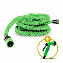[PROMO] MAGIC HOSE Selang Flexible 15 m + kepala semprotan