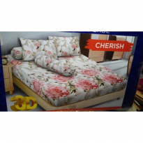 Sprei Kintakun Uk 180x200 Motif Cherish