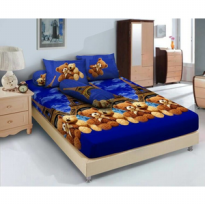 Sprei Kintakun uk 180x200 Motif France Bear