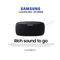 Samsung Level Box Slim Portable Bluetooth Speaker SG-930
