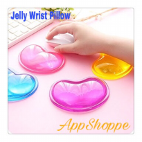 Mousepad Mouse Wrist Pad Rest Transparent Jelly Comfort Silicone