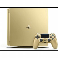 Sony - Playstation 4 Ps4 Slim Console Gold / Silver 500Gb