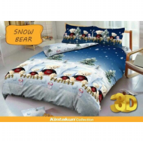 Sprei Kintakun uk 180x200 Motif Snow Bear