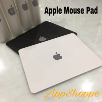 Apple Mousepad Genuine Faux Leather PU with Logo
