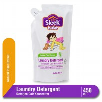 Sleek Baby Laundry Detergent Pouch 450 mL