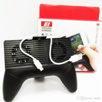 G1 Gamepad Handle Dual Cooling Fan Controller With Powerbank and Stand