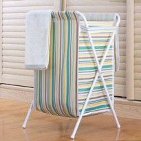 FOLDABLE LAUNDRY STORAGE MOTIF GARIS/SALUR