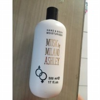 500ml] Lotion Musk by Milano Ashley / HALAL dan BPOM