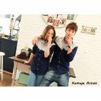 Kemeja Couple Aston