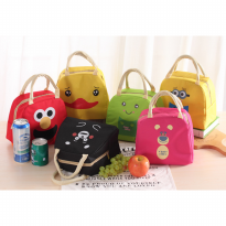 256 Lunch bag cooler bag Tas bekal KARAKTER Bonus jelly ice