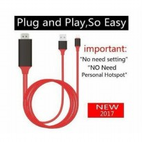 HOT PROMO!!! Kabel Lightning to HDMI / HDTV Video Cable iPhone