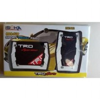 Pedal Gas Mobil Matic TRD Racing Sporty Putih [Exclusive]