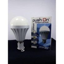 Promo Push On Intelligent Bohlam 12Watt Lampu Hemat Energy