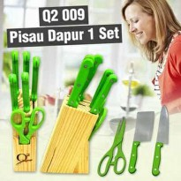 Promo Pisau Set Knife Set Q2 009