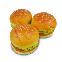 Squishy BURGER 9x9x7cm Simulation Bread SQ08