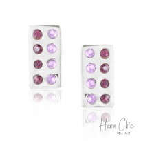 HanaChic Purple Light Earring