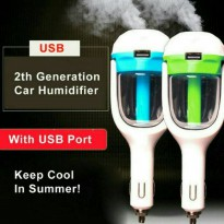 Promo Car Charger Usb With Air Humidifier/Charger Mobil