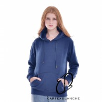 Jaket Sweater Jumper Polos Navy Woman