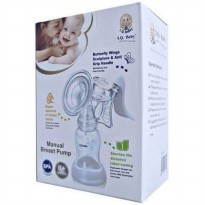 Breastpump Breast Pump IQ Baby Butterfly / Pompa Asi Manual IQ 900