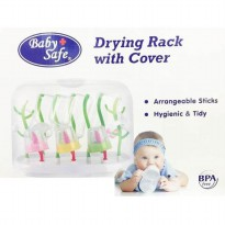 BABY SAFE DRYING RACK WITH COVER [DR002]