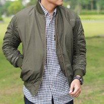 Crows Denim - Jaket Unisex Bomber Exclusive SK115