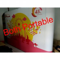 backwall 3 x 4 Curve Non Printing