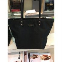 TAS WANITA HUSH PUPPIES DARLENE SERIES BLACK