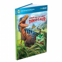 LeapFrog LeapReader Book Leap and the Lost Dinosaur