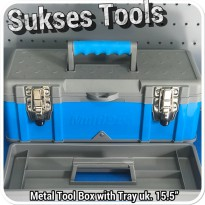 Tool Box Besi Multipro with Tray / Metal ToolBox 15,5