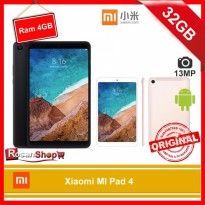 TABLET XIAOMI MI PAD 4 - MIPAD 4 - 32GB RAM 3GB - WIFI - BNIB - ORI -  Global