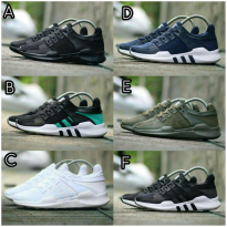SEPATU PRIA ADIDAS EQT ADV SUPPORT TURBO IMPORT QUALITY EQUIPMENT