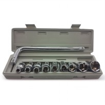 kunci sok 10 pcs (Socket Wrench Set)