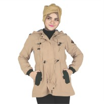 RAINDOZ | Jaket Canvas Kasual Wanita  RNK 039